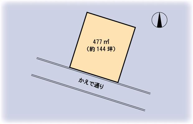白馬村区画図